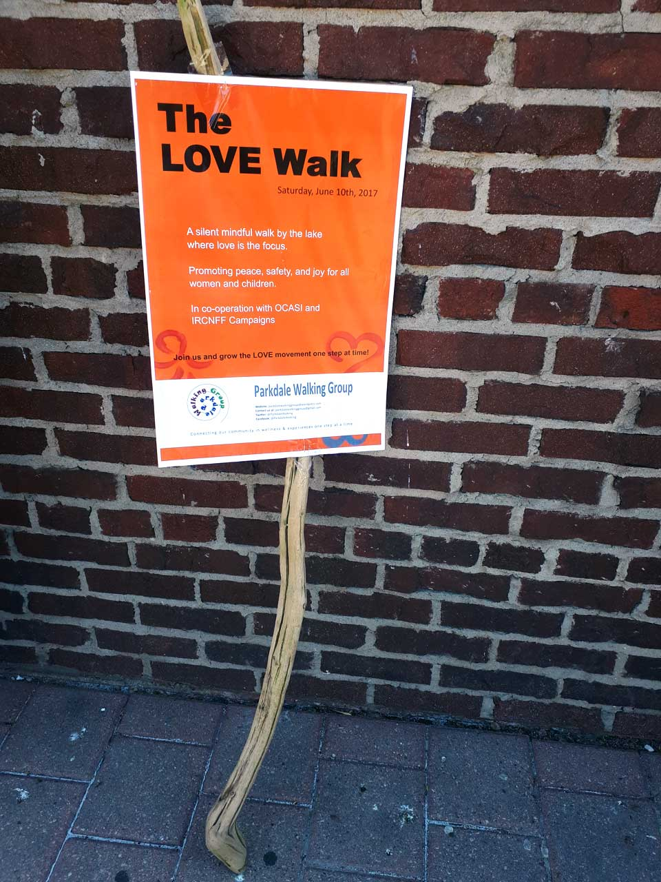 The #LoveWalk
