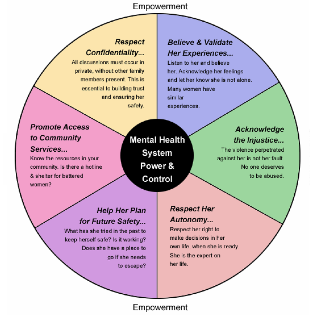 Mental Health System Advocacy Wheel